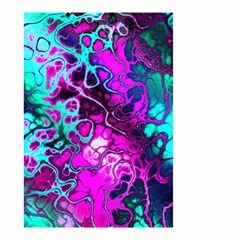 Awesome Fractal 35b Small Garden Flag (two Sides) by MoreColorsinLife