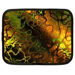 Awesome Fractal 35e Netbook Case (xxl)  by MoreColorsinLife