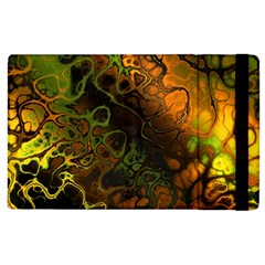 Awesome Fractal 35e Apple Ipad 3/4 Flip Case by MoreColorsinLife