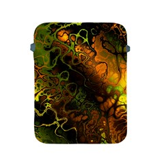 Awesome Fractal 35e Apple Ipad 2/3/4 Protective Soft Cases by MoreColorsinLife
