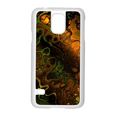 Awesome Fractal 35e Samsung Galaxy S5 Case (white) by MoreColorsinLife