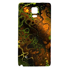 Awesome Fractal 35e Galaxy Note 4 Back Case by MoreColorsinLife