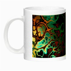 Awesome Fractal 35f Night Luminous Mugs by MoreColorsinLife