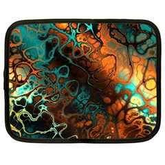 Awesome Fractal 35f Netbook Case (large) by MoreColorsinLife