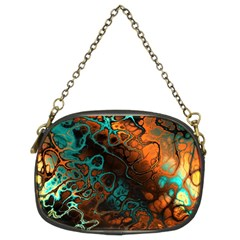 Awesome Fractal 35f Chain Purses (two Sides)  by MoreColorsinLife