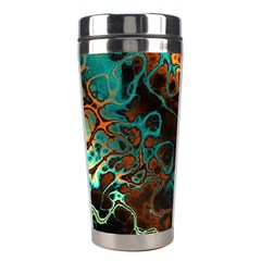Awesome Fractal 35f Stainless Steel Travel Tumblers by MoreColorsinLife