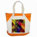 Awesome Fractal 35c Accent Tote Bag Front