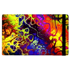 Awesome Fractal 35c Apple Ipad 3/4 Flip Case by MoreColorsinLife