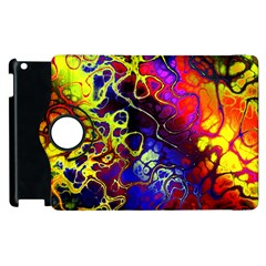 Awesome Fractal 35c Apple Ipad 3/4 Flip 360 Case by MoreColorsinLife