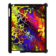 Awesome Fractal 35c Apple Ipad 3/4 Case (black) by MoreColorsinLife