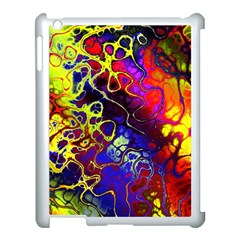 Awesome Fractal 35c Apple Ipad 3/4 Case (white) by MoreColorsinLife