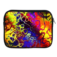 Awesome Fractal 35c Apple Ipad 2/3/4 Zipper Cases by MoreColorsinLife