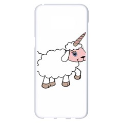 Unicorn Sheep Samsung Galaxy S8 Plus White Seamless Case by Valentinaart