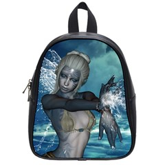The Wonderful Water Fairy With Water Wings School Bag (small) by FantasyWorld7