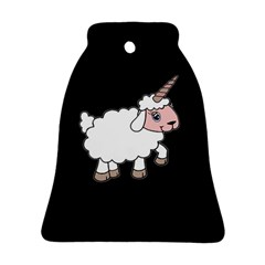 Unicorn Sheep Bell Ornament (two Sides)