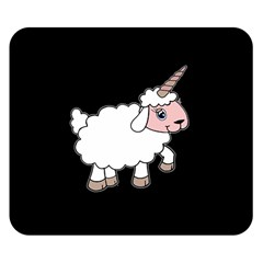 Unicorn Sheep Double Sided Flano Blanket (small)