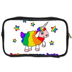 Unicorn Sheep Toiletries Bags 2 Side