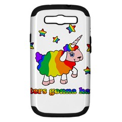 Unicorn Sheep Samsung Galaxy S Iii Hardshell Case (pc+silicone) by Valentinaart