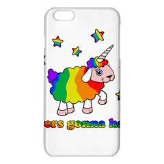 Unicorn Sheep Iphone 6 Plus/6s Plus Tpu Case by Valentinaart