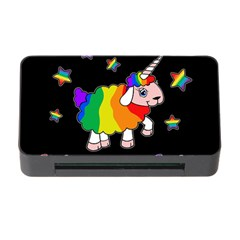 Unicorn Sheep Memory Card Reader With Cf by Valentinaart