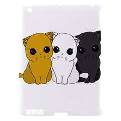 Cute Cats Apple Ipad 3/4 Hardshell Case (compatible With Smart Cover)