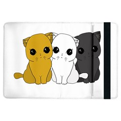 Cute Cats Ipad Air Flip by Valentinaart