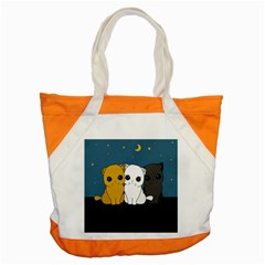 Cute Cats Accent Tote Bag by Valentinaart