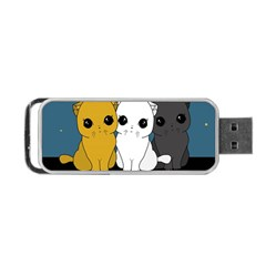 Cute Cats Portable Usb Flash (two Sides)