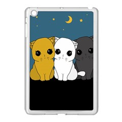Cute Cats Apple Ipad Mini Case (white) by Valentinaart