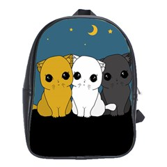 Cute Cats School Bag (xl)