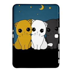 Cute Cats Samsung Galaxy Tab 4 (10 1 ) Hardshell Case  by Valentinaart