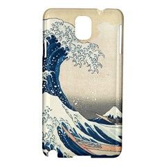 The Classic Japanese Great Wave Off Kanagawa By Hokusai Samsung Galaxy Note 3 N9005 Hardshell Case by PodArtist