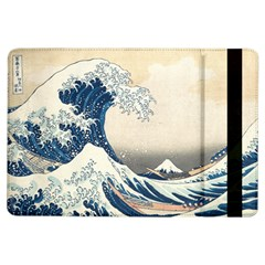 The Classic Japanese Great Wave Off Kanagawa By Hokusai Ipad Air Flip by PodArtist