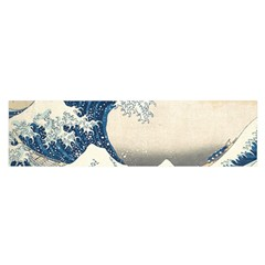 The Classic Japanese Great Wave Off Kanagawa By Hokusai Satin Scarf (oblong) by PodArtist