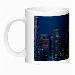 Space Needle Seattle Washington Night Luminous Mugs by Nexatart