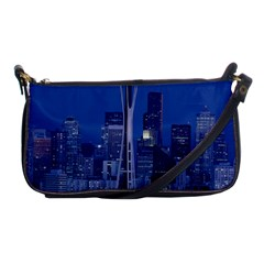 Space Needle Seattle Washington Shoulder Clutch Bags by Nexatart