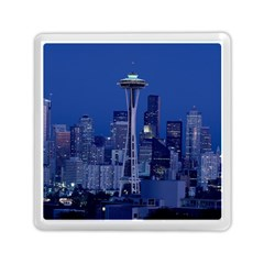 Space Needle Seattle Washington Memory Card Reader (square)