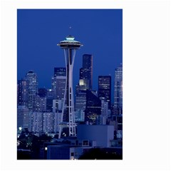 Space Needle Seattle Washington Large Garden Flag (two Sides) by Nexatart