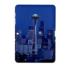 Space Needle Seattle Washington Samsung Galaxy Tab 2 (10 1 ) P5100 Hardshell Case  by Nexatart