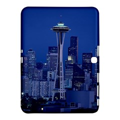 Space Needle Seattle Washington Samsung Galaxy Tab 4 (10 1 ) Hardshell Case  by Nexatart