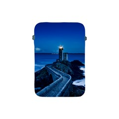 Plouzane France Lighthouse Landmark Apple Ipad Mini Protective Soft Cases by Nexatart