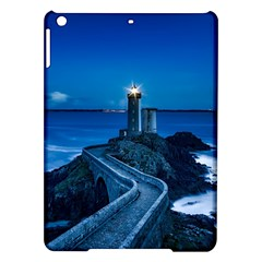 Plouzane France Lighthouse Landmark Ipad Air Hardshell Cases by Nexatart