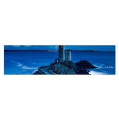 Plouzane France Lighthouse Landmark Satin Scarf (oblong)