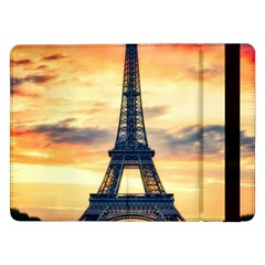 Eiffel Tower Paris France Landmark Samsung Galaxy Tab Pro 12 2  Flip Case
