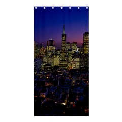 San Francisco California City Urban Shower Curtain 36  X 72  (stall)
