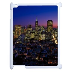 San Francisco California City Urban Apple Ipad 2 Case (white) by Nexatart
