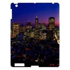 San Francisco California City Urban Apple Ipad 3/4 Hardshell Case by Nexatart
