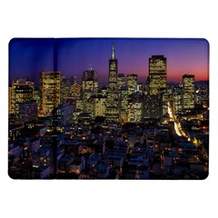 San Francisco California City Urban Samsung Galaxy Tab 10 1  P7500 Flip Case