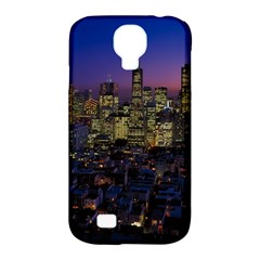 San Francisco California City Urban Samsung Galaxy S4 Classic Hardshell Case (pc+silicone)