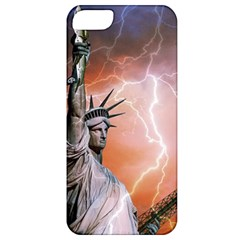 Statue Of Liberty New York Apple Iphone 5 Classic Hardshell Case by Nexatart
